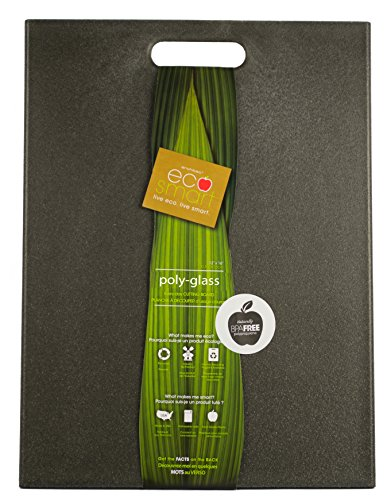 Architec ECOGLS16K Cutting Board, Black PolyGlass (Cutting Board Recycled)