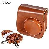 Andoer Camera Case Artificial Leather Single Shoulder Bag Cover for Fuji Fujifilm Instax Mini 8/8s/8+/9