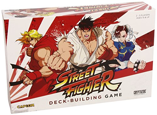 Street Fighter: Deck Building Game ()