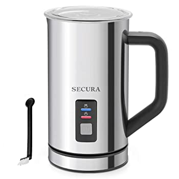 Secura Automatic Electric Milk Frother & Steamer