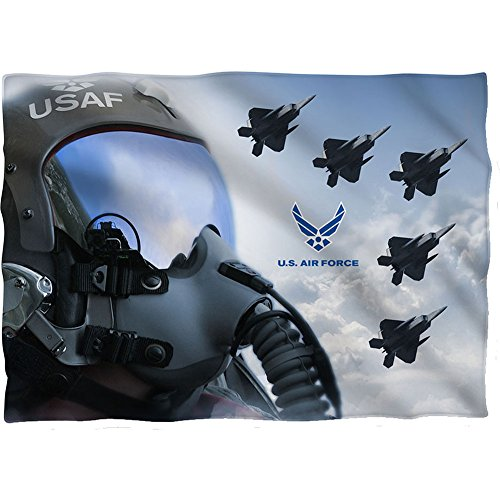 Wicked Tees AIR FORCE PILOT Pillow Case