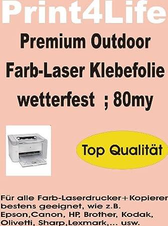 P4L - 10 hojas DIN A4 outdoor Laser fotocopiadora Your ...