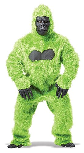 California Costumes Men's Full Gorilla Suit Costume, Green, One Size]()