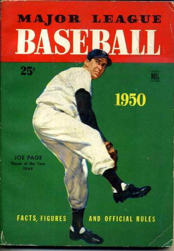 Major League Baseball Facts and Figures and Official Rules 1950