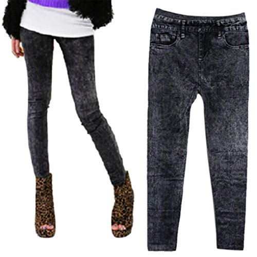 Zha Leggings Women Ba Skinny elásticos Jeggings Pantalones Stretchy Jeggings Pants Vaqueros Sexy Pantalones de Skinny Jeans 7 Slim Gris Pitillo Sexy Mujer Hei mujer Pantalones Skinny 1dZfwrdq