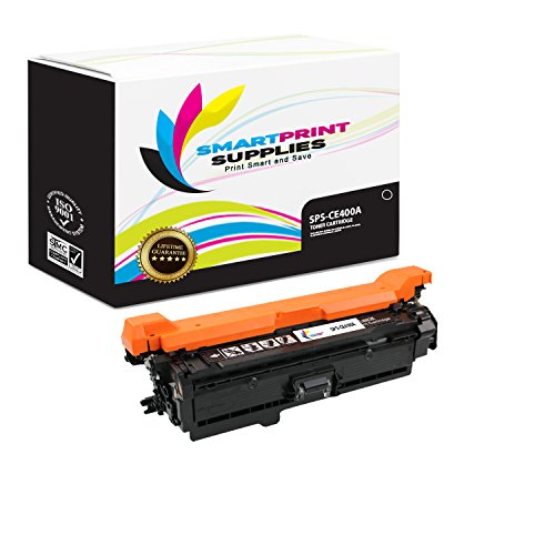 Smart Print Supplies 507A CE400A Black Compatible Toner Cartridge Replacement for HP LaserJet M551 M551dn M551n M551xh Laser Printers (5,500 Pages) (Print 5500 Cartridge Smart)