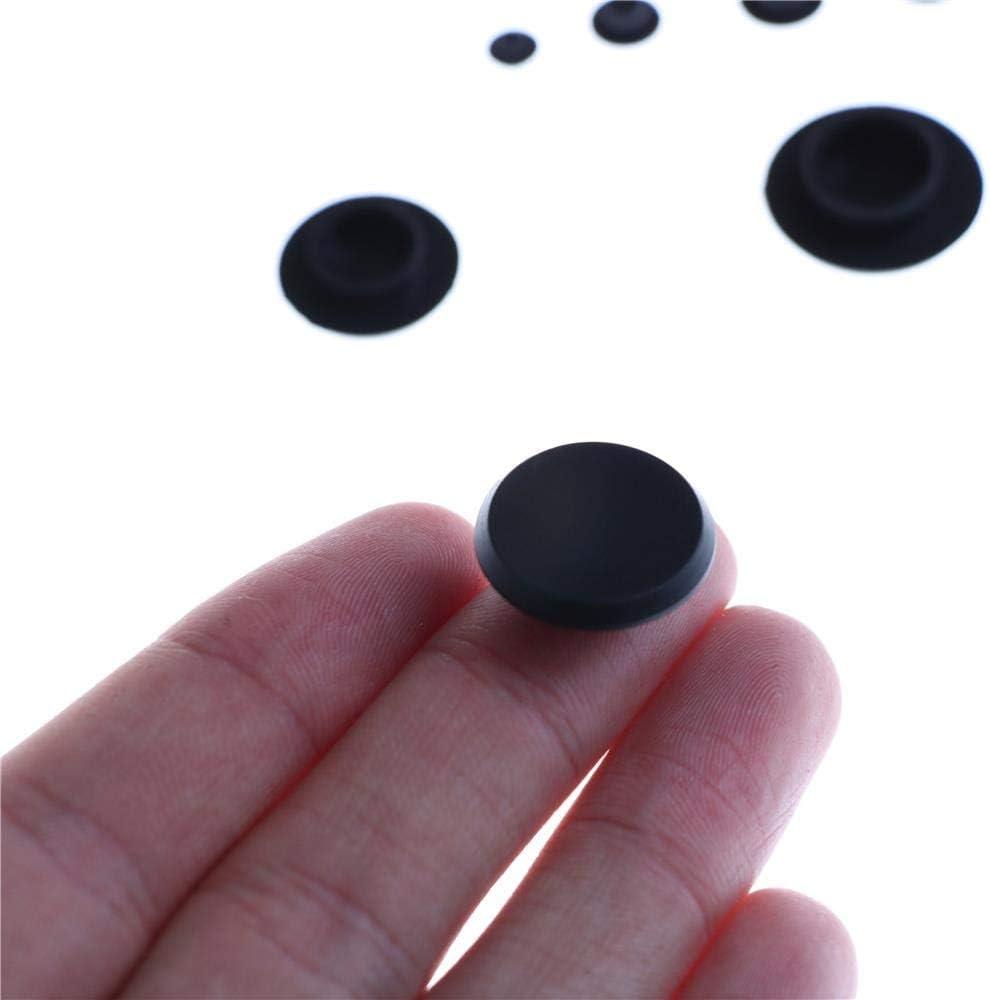 M4 Yener 10PCS M5 Negro pr/áctico para Tornillos de fijaci/ón hexagonales Tornillos Cubiertas Tapas Tornillo Allen Tuerca Tornillo Tapa de Cabeza Redonda
