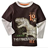 [Baby Tree]Baby boys / Toddler / kid's long sleeve T-Shirts. G5003T3