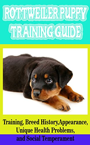 Rottweiler Puppy Training Guide Training Breed History Appearance
