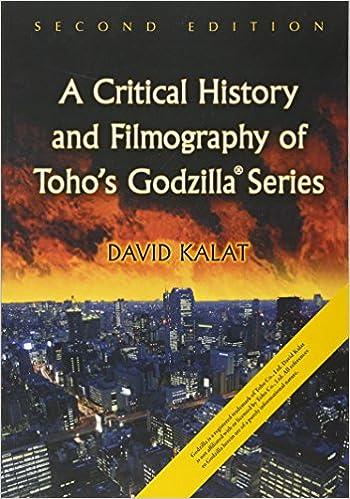 Amazon com: A Critical History and Filmography of Toho's Godzilla