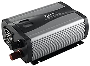 Cobra CPI 880 800 Watt 12 Volt DC to 120 Volt AC Power Inverter with 5 Volt USB output