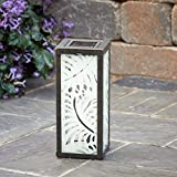 Smart Solar 3018WRM1 Palm Leaf Square Solar Lantern with Rechargeable Ni-MH Battery, One White LED Bulb and One Ground Stake for Up To 8 Hours of Illumination Review