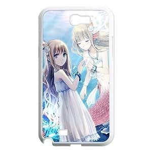 Samsung Galaxy N2 7100 Cell Phone Case White Anime Mermaid Phone Case Cover Customized Plastic XPDSUNTR02382