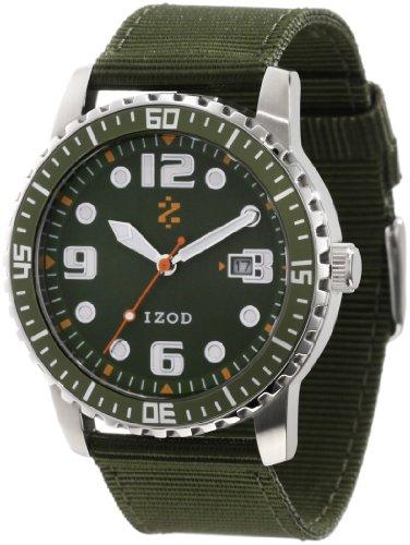 UPC 811288014913, IZOD Men's IZS3/6 KHAKI Sport Quartz 3 Hand Watch