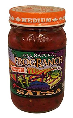 Salsa Ranch - Frog Ranch Medium All Natural Salsa 16 oz. (Pack of 3)
