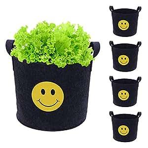 Amazon.com: Tuangexportabl - Bolsas de fieltro para plantas ...