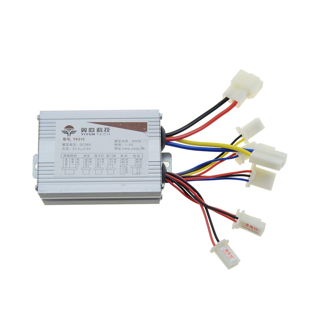 WOOSTAR Motorcycle Speed Controller 36v 800w for Electrical Scooter E Bike Bicycle Brush Motor by WOOSTAR
