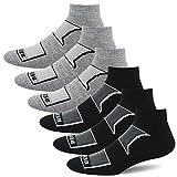 BERING Men's Performance Athletic Ankle Running Socks (6 Pair Pack) Review
