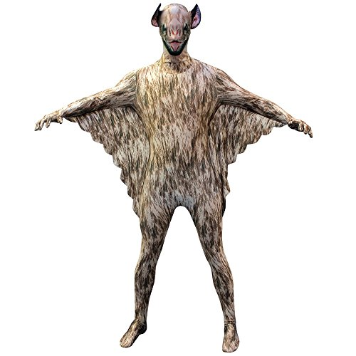 "Official Vampire Bat Morphsuit Fancy Dress Costume - size Medium - 5""-5""4 (150cm-162cm) (Animal Morph Suits)"