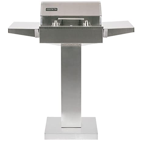 Coyote 18 Inch Built In / Portable Electric Grill On Patio Post   C1el120sm
