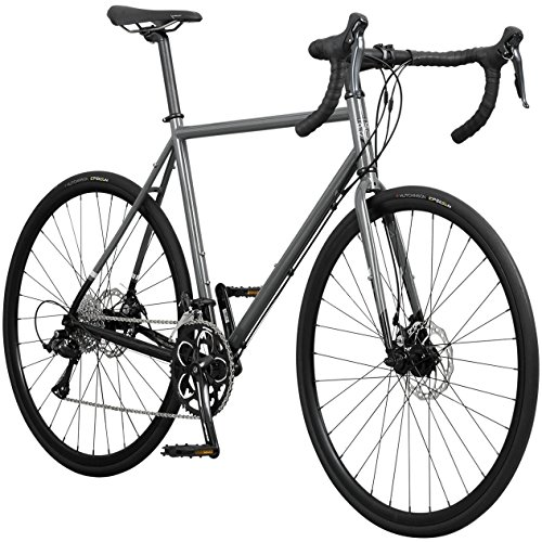 Pure Cycles Classic 16-Speed Disc Road Bike, 56cm/Large, Passo Grey Pure Fix Cycles, Inc.