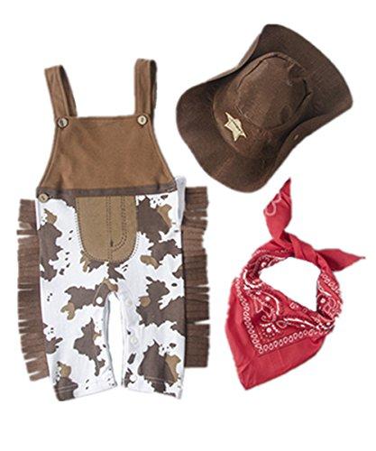 Meng  (Baby Girl Cowboy Costume)