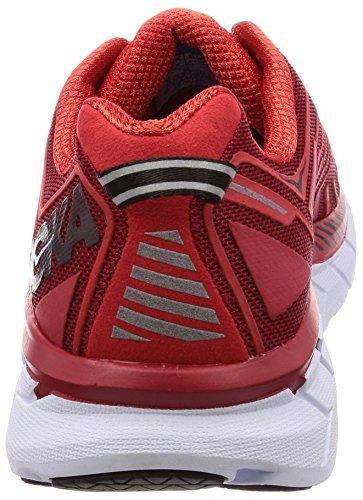 Running White Clifton One Hoka Men's 4 Shoe One Red zqU8ZxnX