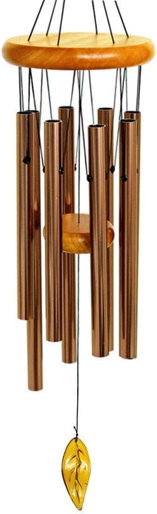 kiter Wind Chime Reloj Colgante Vida Cama Decoración del hogar Regalo Coche Exterior Patio Jardín Decoración Wind Chime Viento Chimes Carillón de Viento (tamaño : 28 Inches)