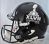 NFL Baltimore Ravens SB 47 Champs Riddell Pro Line Football Helmet