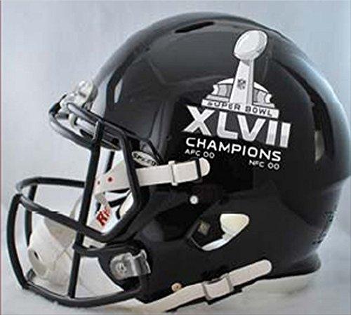 NFL Baltimore Ravens SB 47 Champs Riddell Pro Line Football Helmet by Riddell