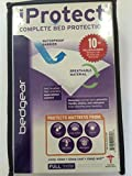 BEDGEAR iProtect PERFORMANCE Twin Mattress Protector, Breathable, Anti-Microbial, Waterproof Barrier. Fits mattresses up to 18 inches deep