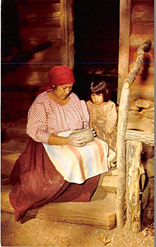 Cherokee Indian Making Pottery Great Smoky Mountains National Park Indian ()