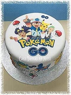 POKEMON Edible ICING Image CAKE Topper Decoration FREE SHIPPING G0