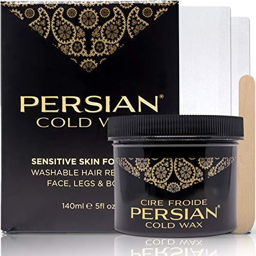 Parissa Persian Cold Wax Hair Remover Kit, Small, 5 Oz
