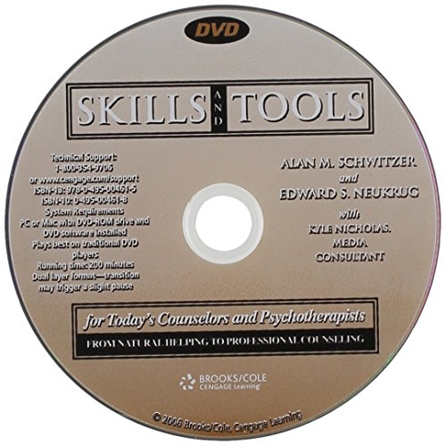 DVD for Neukrug/Schwitzer's Skills and Tools for Today's Counselors and Psychotherapists: From Natural Helping to Professional Counseling