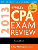 img - for Wiley CPA Exam Review 2013, Regulation 10th by Whittington, O. Ray (2012) Paperback book / textbook / text book