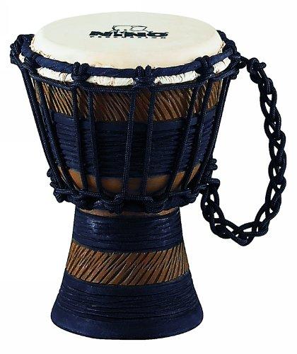 Nino Percussion NINO-ADJ3-XXS African Style Rope Tuned''Earth Series'' Djembe, Size XX-Small by Nino Percussion