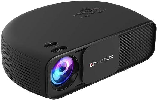 AXDNH Proyector Minl, 1080p HD Proyector de Video Proyección ...
