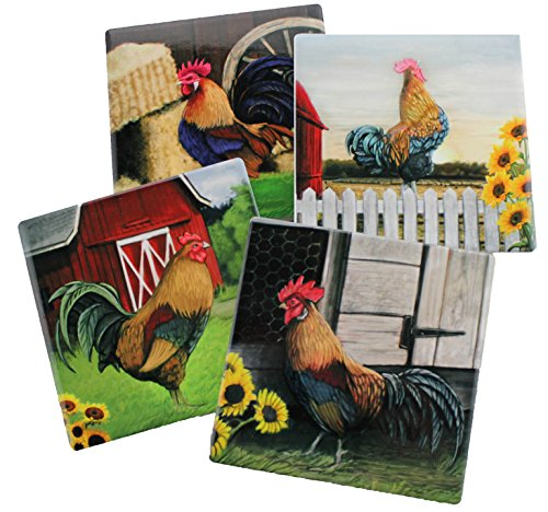 Rooster Decorative Coasters Ceramic Coaster product image