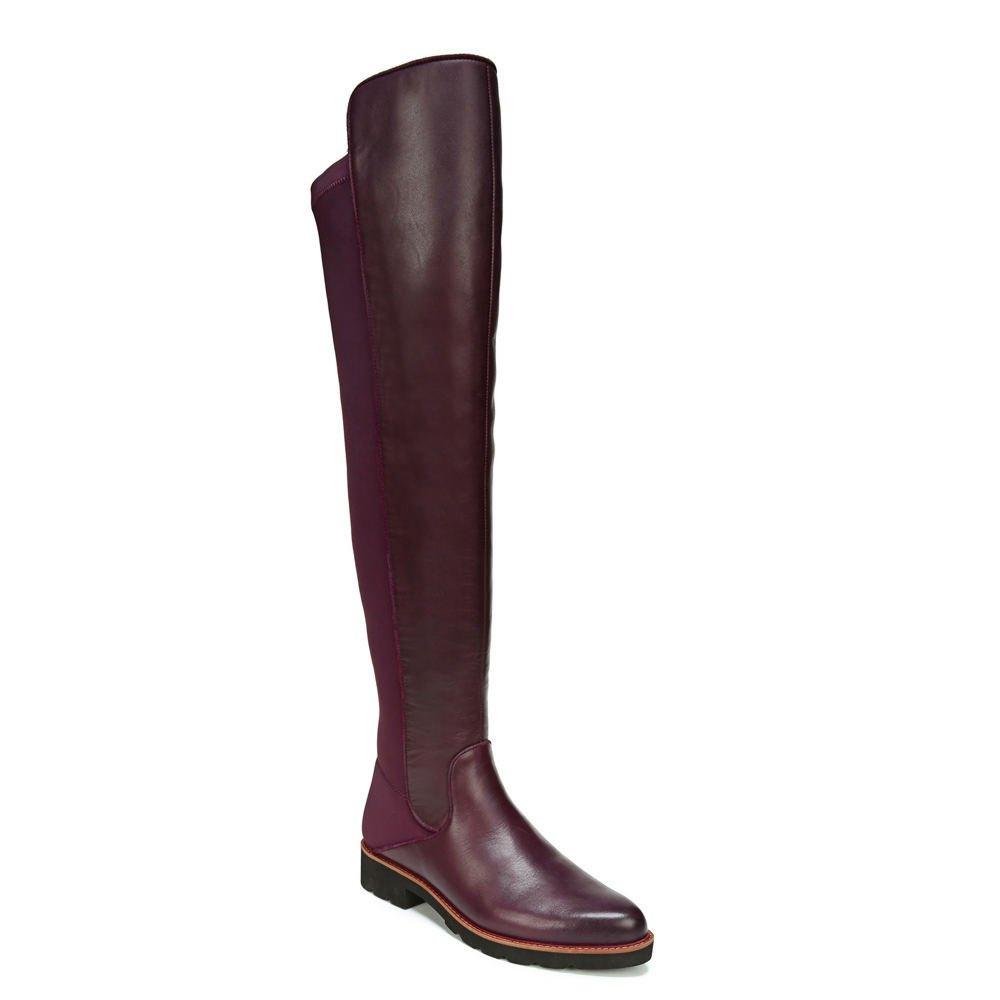 Franco Sarto Womens Benner B075BKHJQ1 6.5 B(M) US Dark Burgundy Leather/Stretch Lycra