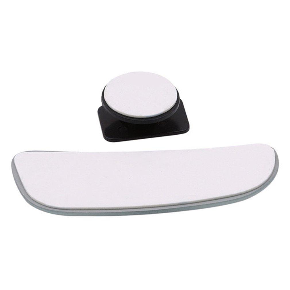 Lnlyin Blind Spot Miroir carr/é 360//° Rotation r/églable Grand Angle Vue arri/ère Miroir Convexe Verre HD c/ôt/é R/étroviseur Universel pour Tous Les v/éhicules de Voiture