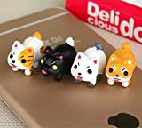 Best Cord Wraps For Blackberries - iAnko 4 Pcs (Whole Set) Little Doggy Cute Review
