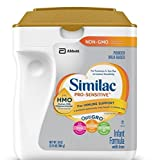 Similac Abbott Pro-Sensitive Non-GMO Powder Infant Formula with Iron with 2'-FL HMO for Immune Support 34 oz (Various Packs Available) … (2 pack)