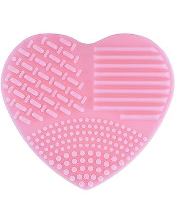 Kitabetty Limpiador, Nuevo Silicón Lavado en forma de corazón Herramienta de limpieza de huevos Limpieza