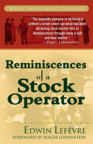 Pdf Memoirs Reminiscences of a Stock Operator