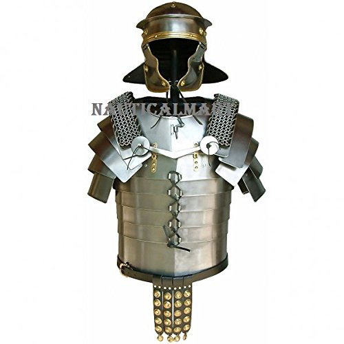 Roman Legionaries Armor Lorica Segmentata with brass fittings By (Roman Legionary Costume)