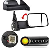 ECCPP Towing Mirrors for 2002-2008 Dodge Ram 1500 2500 3500 Power Heated Led Signal Lights Pair Mirrors