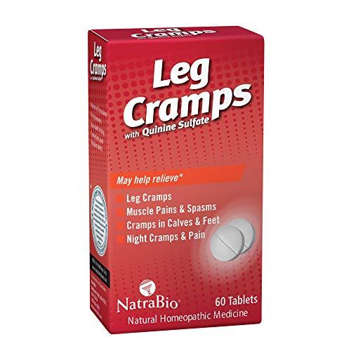 Natrabio Leg Cramps Tablets, 60 Count (Quinine Sulfate)