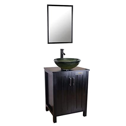 24 Bathroom Vanity And Sink Comb Bathroom Vanity Top With Glass