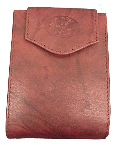 Buxton Heiress Convertible Billfold (Burgundy)